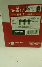 "POWERS FASTENERS C5 TRAK-IT 1-1/2"" PIN 55316"