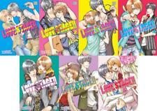 Taishi Zaou & Eiki LOVE STAGE Explicit Romance English MANGA Series Books 1-7