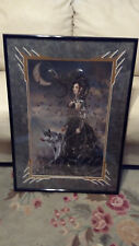 """Nene Thomas """"Bellamaestra, Lady of Pain"""" Le Matted in Metal Frame Signed # 4/500"""