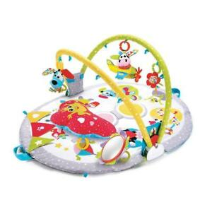 Yookidoo Lay To Sit-Up Gymotion Activity Gym Play Mat Toddler/Baby Toys 0-12m