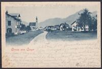 Alte AK Gruß aus Anger 1900, Panorama, gel.