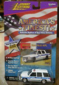 JOHNNY LIGHTNING: AMERICA'S FINEST:Mesquite Texas, Police Dept. 1997 Chevy Tahoe