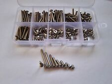 180PCS M3 Allen Bolt Hex Socket Countersunk Flat Head Screw Bolt Assortment Set