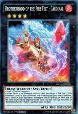 Brotherhood of the Fire Fist - Cardinal MP14-EN031 X 3 Mint  1st  YUGIOH Secret