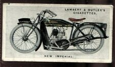 Tobacco Card, Lambert Butler, MOTOR CYCLES, 1923, New Imperial, #33