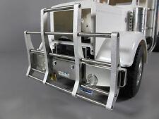 Aluminum Front Animal Bumper Guard Tamiya 1/14 RC Semi King Hauler Tractor Truck