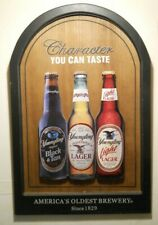 Yuengling Black & Tan Light Lager Beer Pottsville Pa Brewery 3D Wood Bar Sign
