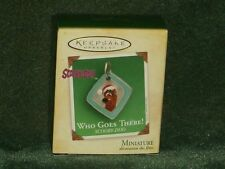 Hallmark 2004 Who Goes There! - Scooby-Doo - Miniature Ornament - New