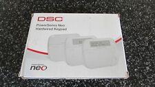 DSC Tyco HS2LEDENG Power PowerSeries Neo Hardwire Keypad - Free Ship
