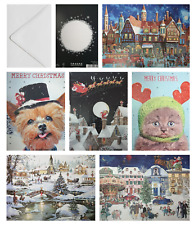 Non Chocolate Advent Calendar Glitter Picture Traditional Advent Calendars 9x12""