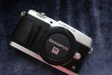 Olympus PEN E-P5 Mirrorless Micro Four Thirds Digital Camera Body, Silver