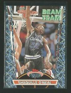 1993 Topps Stadium Club Members Only Shaquille O'Neal Magic Beam Team Insert JC
