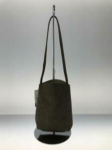 HERZ  Leather Shoulder-Bag Mini Size Leather Gray Fashion Bag 7048 From Japan