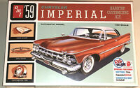 AMT 1959 Chrysler Imperial hardtop customizing kit 1:25 scale model kit new 1136