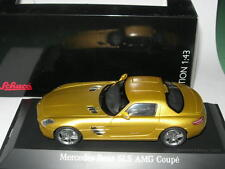 Schuco 1:43 07414 Mercedes-Benz SLS AMG Coupé Gold Metallic NEW