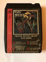 Rick James Bustin' Out of L Seven 8 Track Tape Tested D