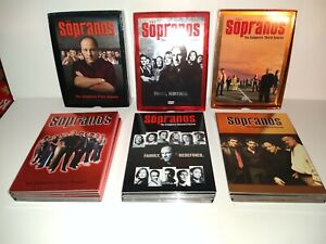 The Sopranos Season 1, 2 & 3 On DVD free shipping