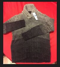 Calvin Klein NEW Shade Of Gray Sweater Mens Size XL