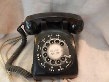 Vintage Kellogg Rotary Dial Telephone Black