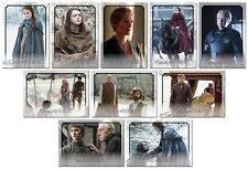 GAME OF THRONES Season 6 Preview - 11 Card Promo Set - GoT Arya Cersei Tyrion