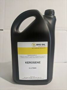 KEROSENE 5 LITRE HEATING OIL, GOOD FOR CLEANING ENGINE PARTS