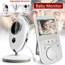 2.4 Zoll Wireless Funk Babyphone Baby Monitor mit Nachtsicht Temperatur Kamera