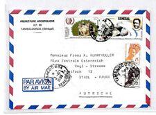 CM322 1988 *SENEGAL* Missionary Air Mail MIVA Austria Cover