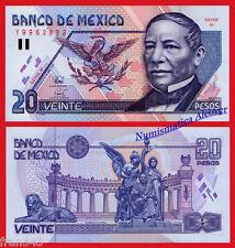 MEJICO MEXICO 20 Pesos 1994 Pick 106a  SC  / UNC