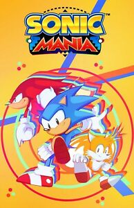 Sonic Mania Poster (Exclusive Art) Painting by Inking Solstice - NEW - USA