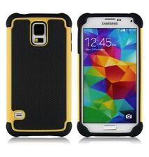 Étuis, housses et coques jaunes Samsung Galaxy S5 pour téléphone mobile et assistant personnel (PDA) Samsung