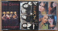3x THE CORRS CASSETTE TAPES LOT IRISH POP EXCELLENT COND!