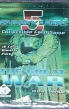 @@BRADE Babylon 5 Collectible Card Game [CCG]: 5 boosters THE Great War VO@@