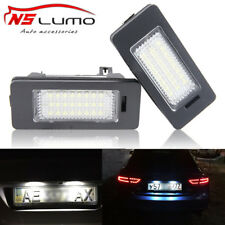 LED License Plate Light For Audi A4 B8 S4 A5 S5 Q5 S TT quattro Tail Lamp Bulb