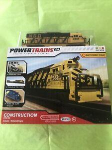 NEW Power Trains 2.0 CONSTRUCTION ENGINE Motorized Train Jakks