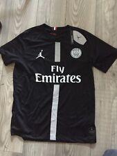Maillot PSG  Third Jordan  Ligue Des Champions noir Flocage Neuf ( Lire Descript