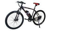 "E-Plus Pulse Unisex Electric Mountain Bike 27.5"" Wheel, 8.8Ah - Black/Red"