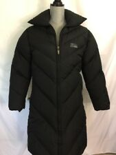 FIRST DOWN 64 Black Down Coat Jacket Size Large L Womens  Long Puffer