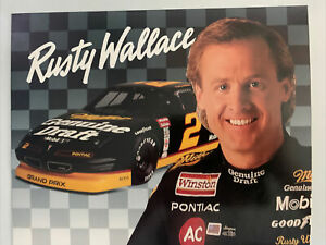 Rusty Wallace #32 1993 Pinnacle Action Packed Mean Rides Nascar Racing Card
