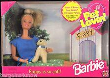Pet Lovin' Barbie Golden Retriever Puppy NIB