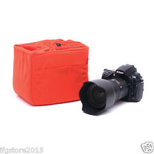 New MATIN NDCP-50 Orange Cushion Partition Padded Insert Bag for DSLR Lens Bag