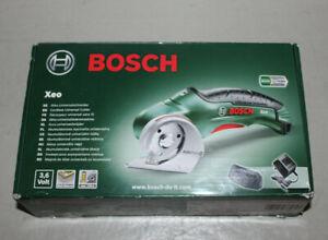 Bosch Akku Universalschneider Xeo 3,6 V Li-Ion Multi Material Bodenmesser