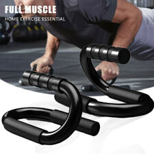 Push Up Stand S Shape Fitness Push-Ups Bars Arm Chest Workout Gym Exercise US