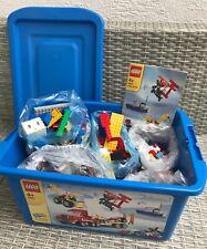 LEGO 2,6 kg Sammlung Konvolut LEGOSTEINE bunt gemischt + Lego Kiste zum Teil ALT