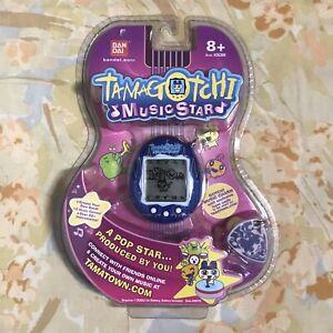 Bandai Tamagotchi Music Star Blue Sound Blast New Sealed 2008