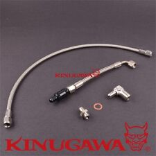 Kinugawa Turbo Oil Feed Line Kit DSM 1G Eclipse EVO 1-3 TD05H with oil filter