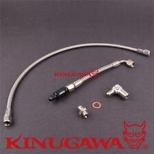 Kinugawa Turbo Oil Feed Line Kit DSM 1G Eclipse EVO 1-3 TD05H with oil filter