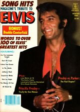 Song Hits Magazine Winter 1984 Tribute To Elvis, Double Centerfold, Priscilla