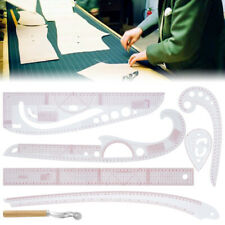 7x French Curve Sewing Pattern Ruler Measure Dressmaking Tailor Support Tools AU