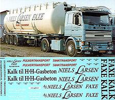 Scania 111 141 142 ecc. FAXE Niels Larsen Danimarca 1:50