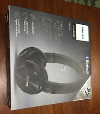 NEW ! Philips Wireless Noise Canceling Headphones Blk # SHB8750NC/27